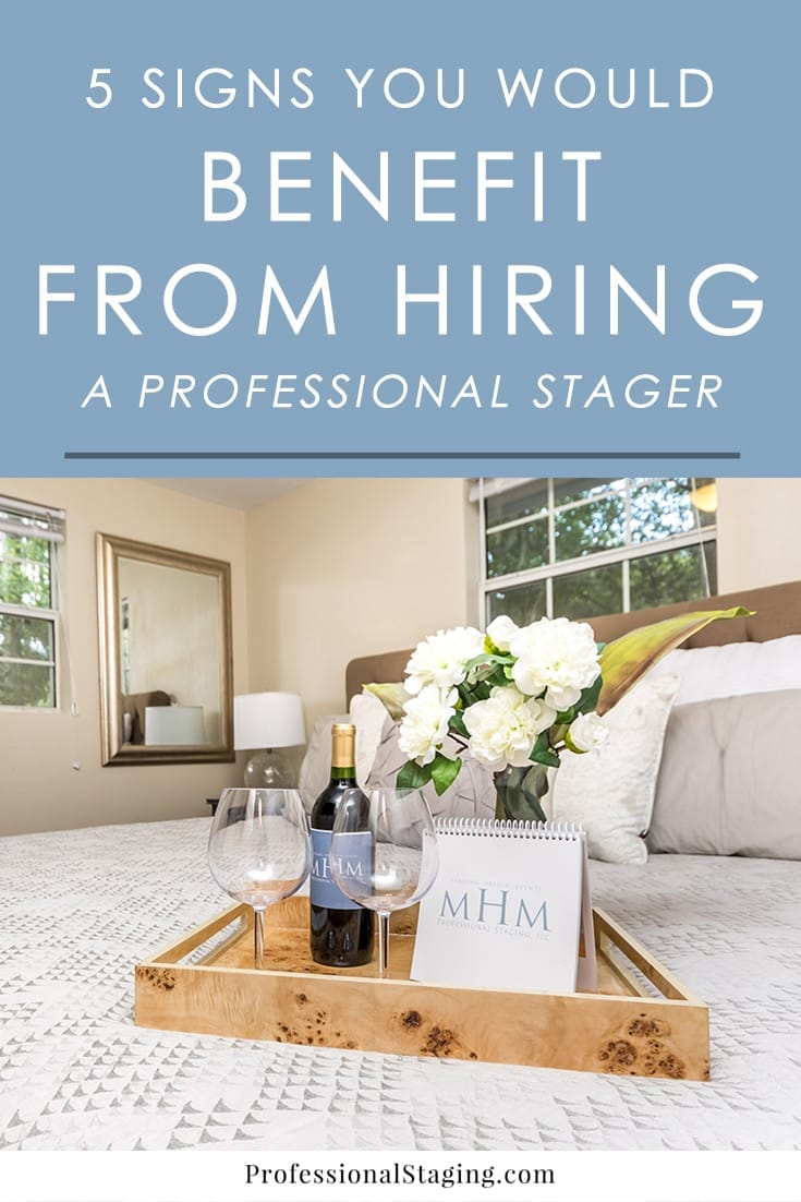To sell your home faster and for top dollar in today's market, home staging is one of the best marketing strategies. It's possible to stage your own home, but there are a few things to consider before committing to that decision. You may be hindering your home's chances on the market rather than helping them.