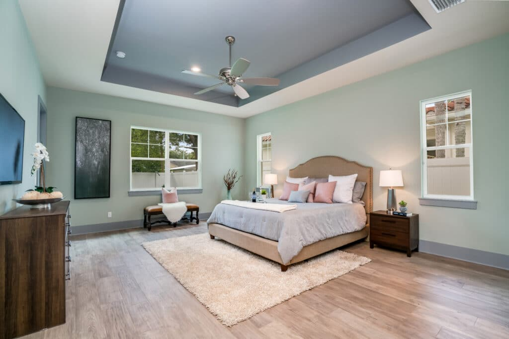 Master bedroom at 1218 Guernsey Street