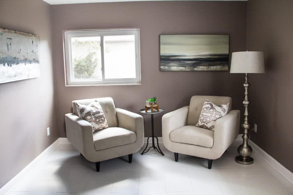 Flex room in the Delaney Park house from Zombie House Flipping season two episode two