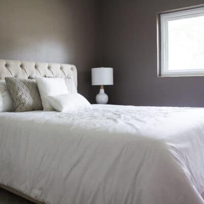 Second extra bedroom in the Delaney Park house from Zombie House Flipping season two episode two