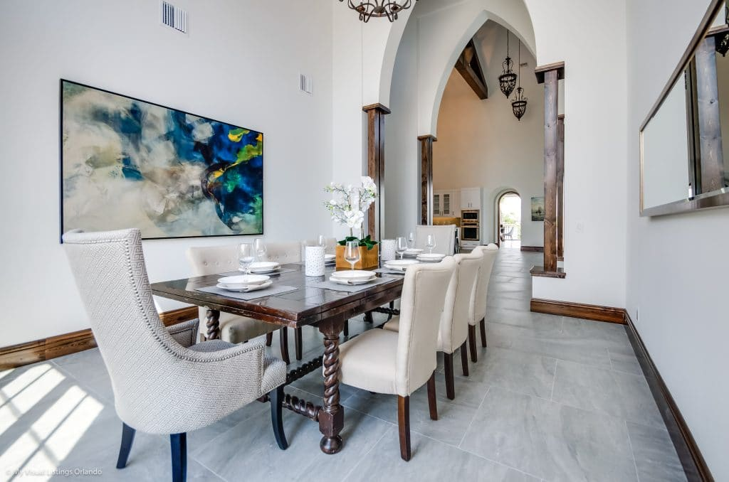 Home staging by MHM Professional Home Staging for the Orlando Parade of Homes