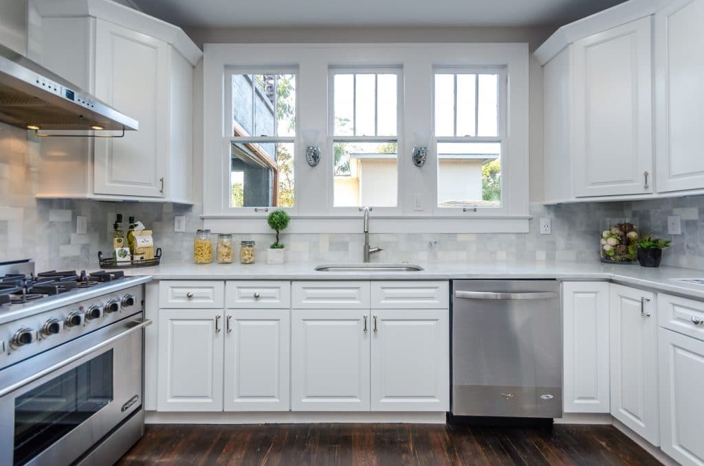 Kitchen of the house from Zombie House Flipping season two episode ten