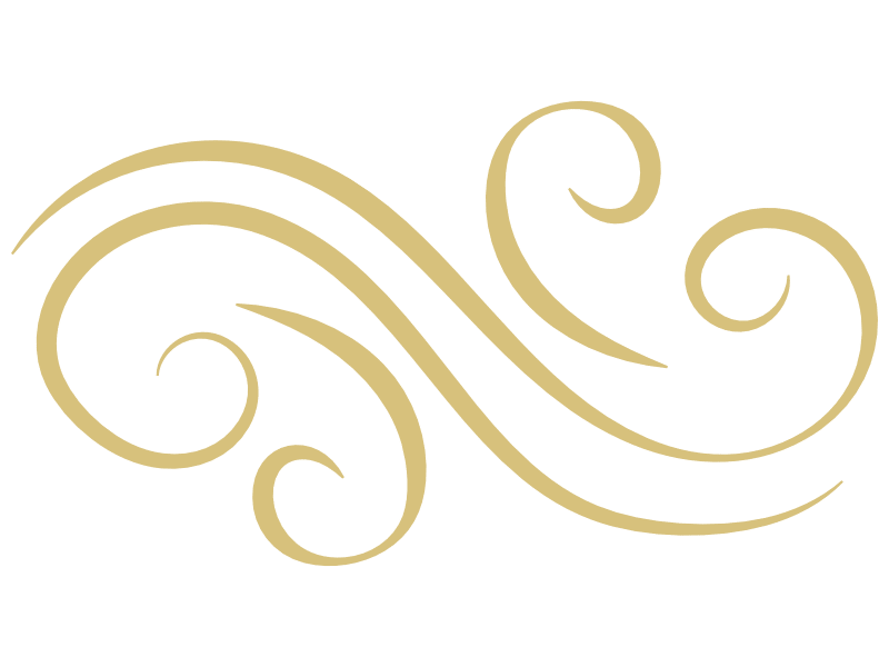 Gold flourish (decorative)
