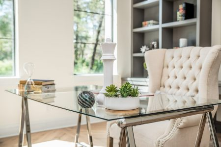 Home office staged by MHM Professional Staging in Orlando, FL