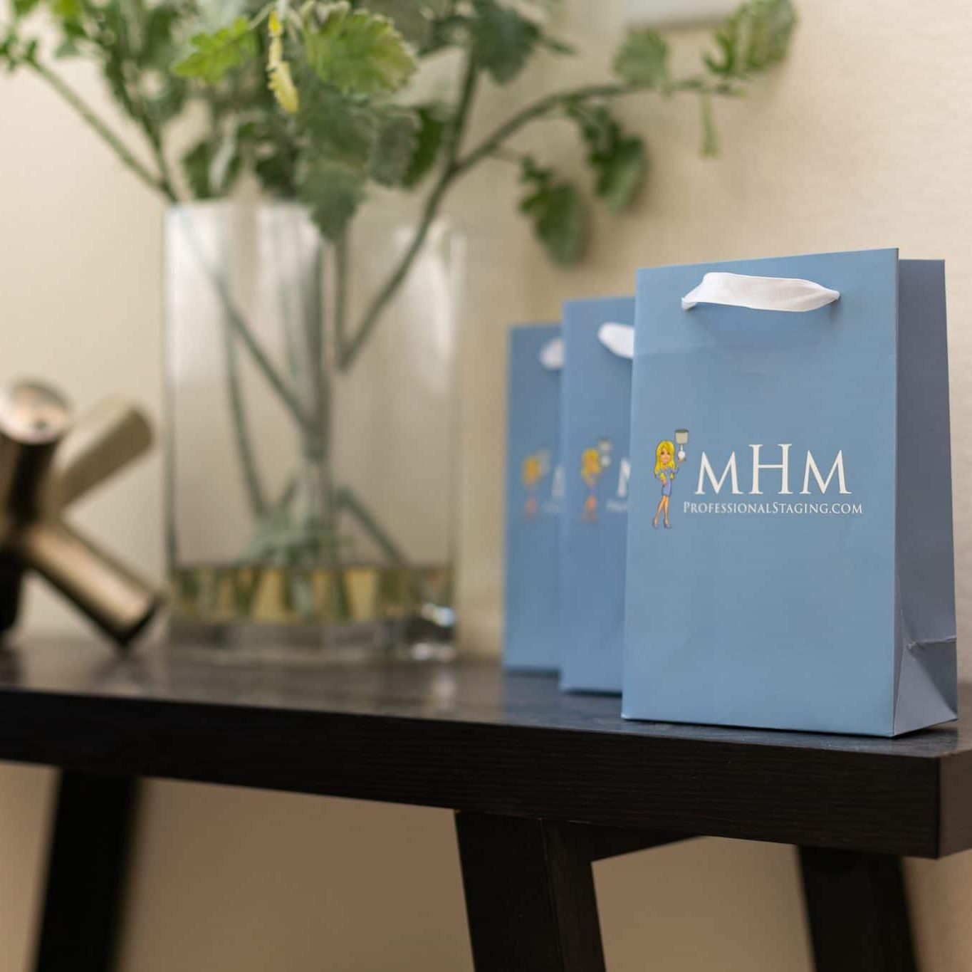 MHM Professional Staging gift bags